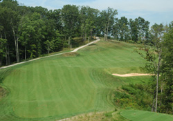 Beautiful Eagle Ridge Golf Course in Lawrence County, Kentucky.