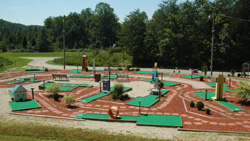 Putt Putt Golf Course at Lawrence County Park in Lawrence County, Kentucky.